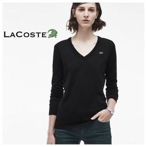 Lacoste Black Sweater